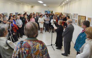 Sajdik Ferenc kiállítás megnyitó 2.